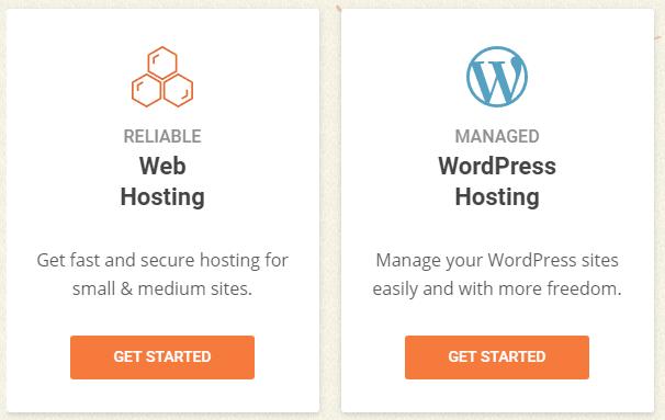 Siteground homepage Hosting plans