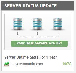 Siteground server status update