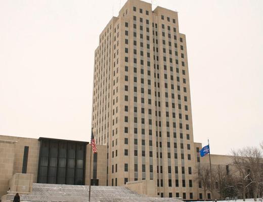 ND State Capitol (Korrie Wenzel/Grand Forks Herald)