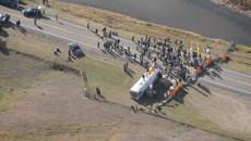 aerial roadblock