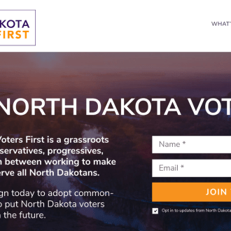 North Dakotans, if You Were Recently Asked to Sign a Petition to Make It Easier for Soldiers to Vote, You May Have Been Duped