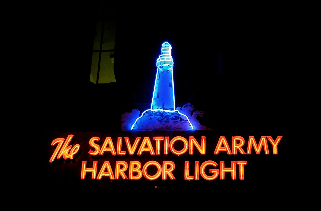 11 Of The Coolest Neon Salvation Army Signs Worldwide