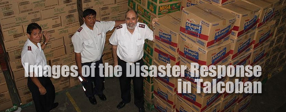 Powerful photos from The Salvation Army's emergency response team in Tacloban