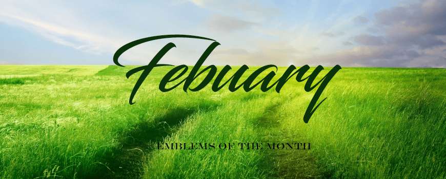 Emblems of the Month – February