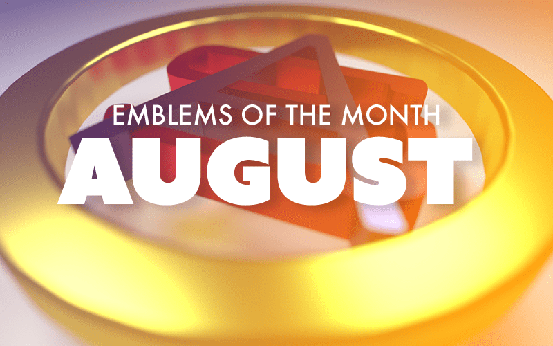August – Emblems of the Month