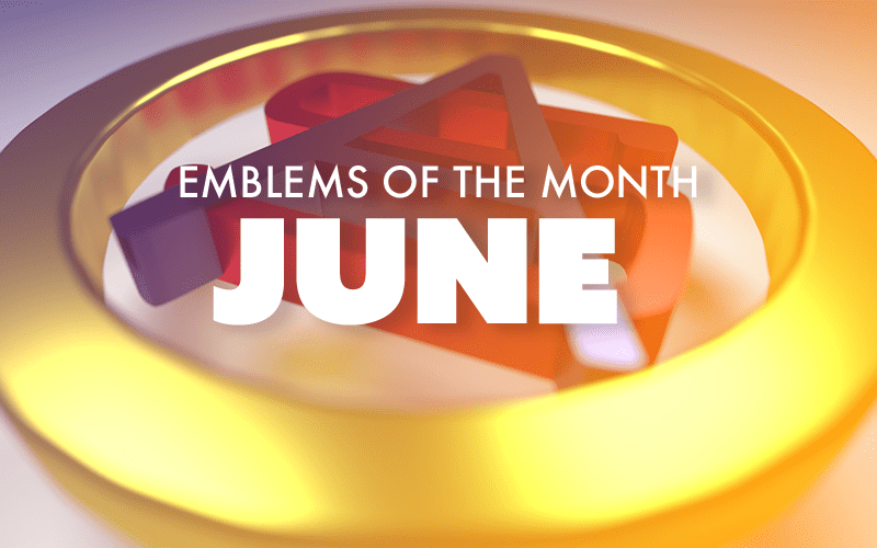 June – Emblems of the Month