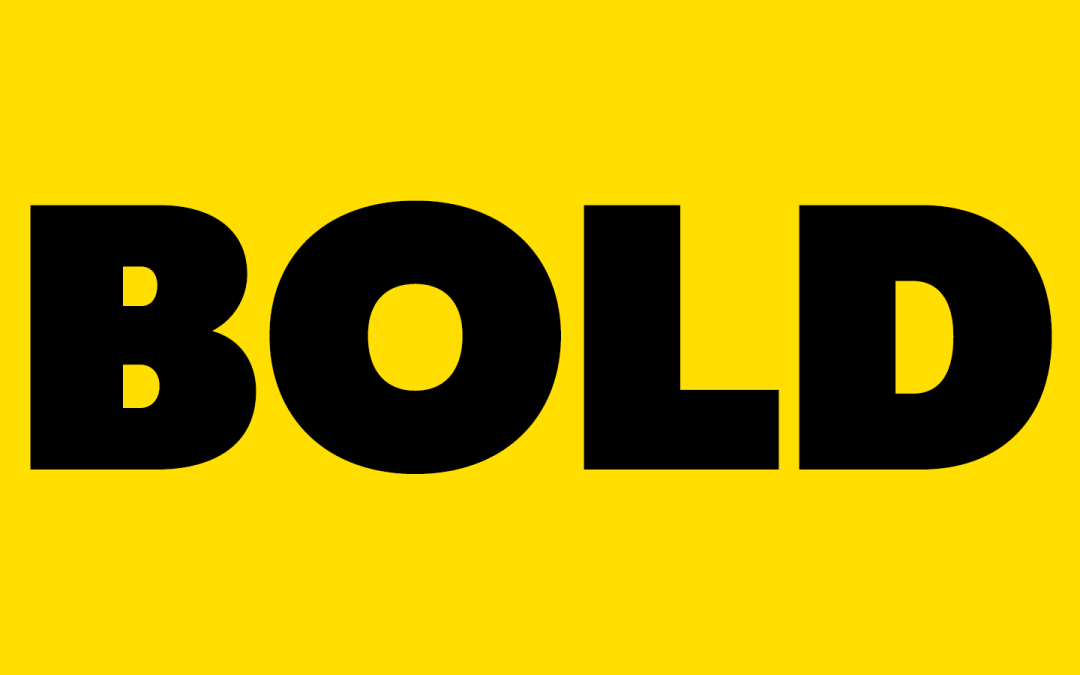 BOLD – Fall 2018 is available!