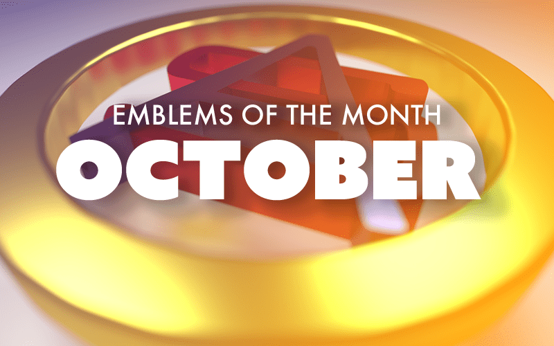Emblems of the Month – October