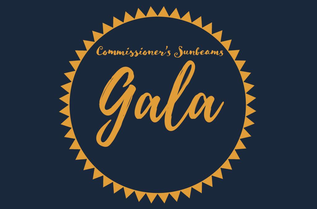 Commissioner's Sunbeams Gala 2019