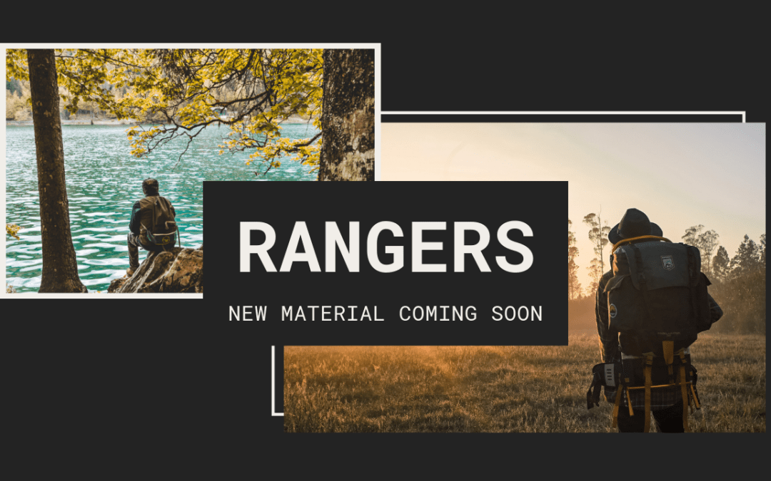 New Ranger Material Coming Soon!
