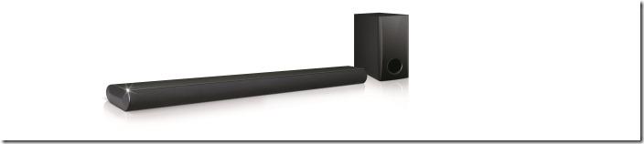 LG無線藍牙環繞Sound Bar 劇院(LAS350B)透過自動音效平衡的技術,可即時的調校低、中、高音立體音效的平衡;此外,無線藍牙串聯可讓Sound Bar同時與三個藍牙裝置串聯,切換便利。