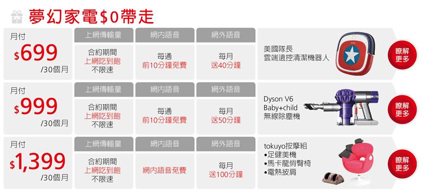 遠傳4.5G上網吃到飽精品家電<img class=