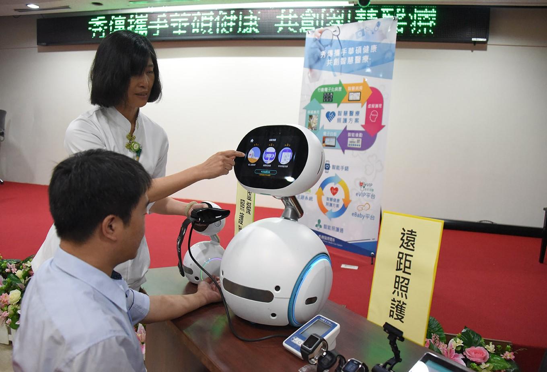 ˋ華碩健康與秀傳醫院合作展示虛擬照護助理.JPG