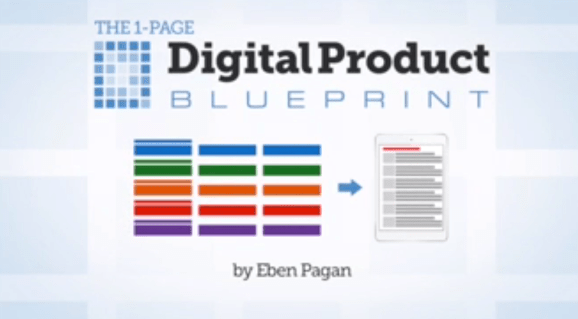 Eben pagan founder of digital product blueprint review 1 page digital product blueprint malvernweather