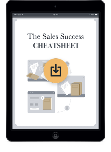 sales success cheat sheet