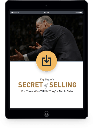 The Secrets for Successful Selling