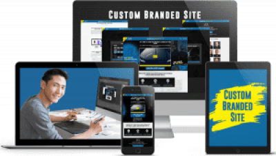 custom branded site