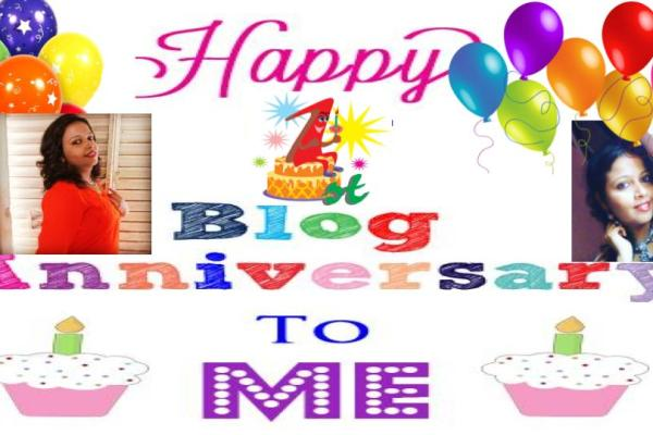 My First Blog Anniversary!!