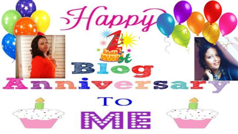 My First Blog Anniversary!!