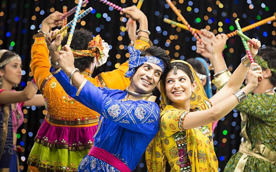 Dandiya Dance - A to Z Challenge