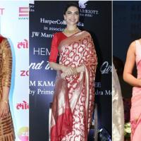 5 Bollywood Divas who Love to Drape Sarees