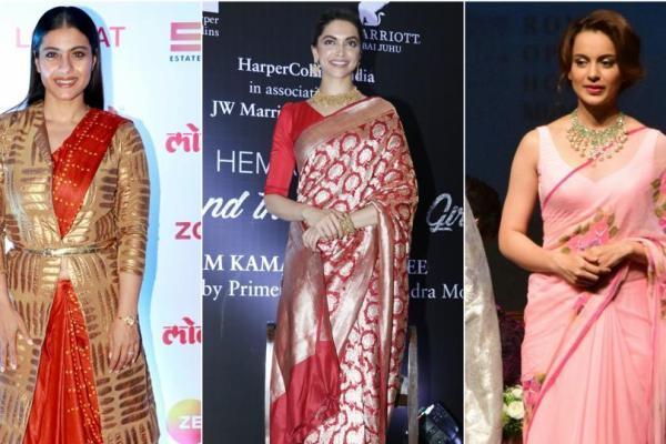 5 Bollywood Divas who Love to Drape Sarees