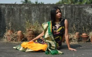 Sayeri Diary - Wearing Saree