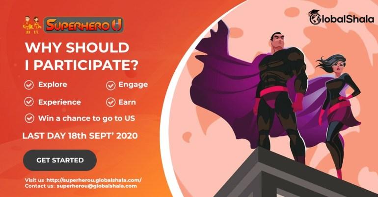 Global Challenge with 'Superhero U' by GlobalShala