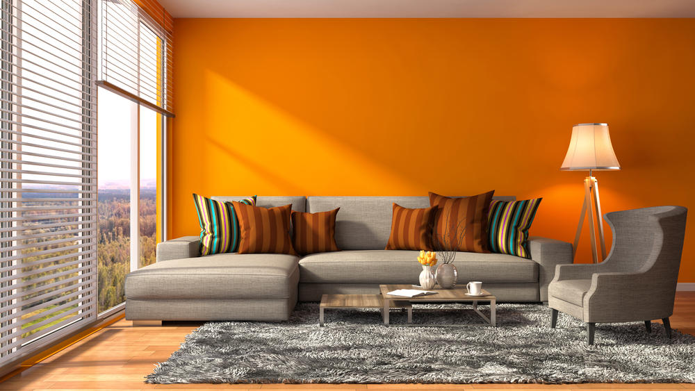 Comedor Madera Naranja
