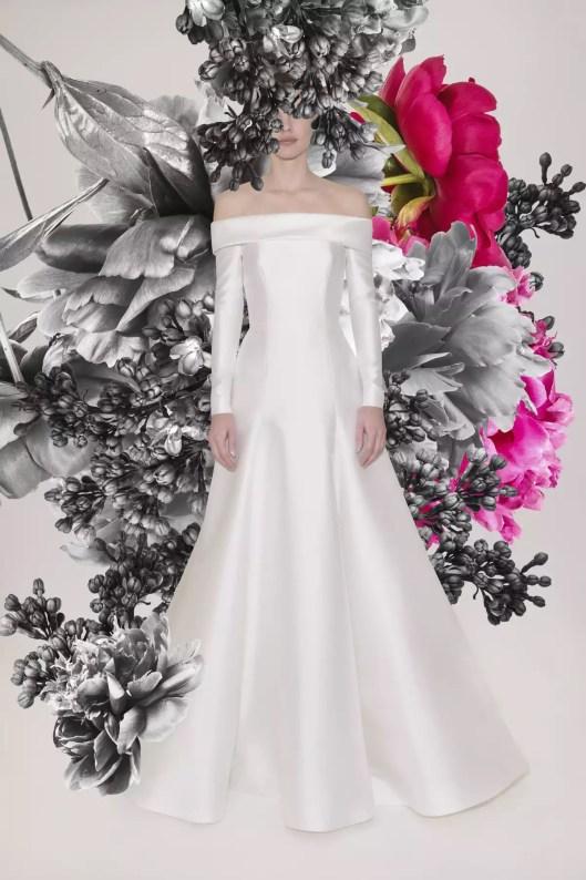 فساتين زفاف للعروس الطويلة 2021