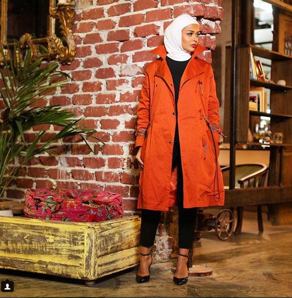 ملابس محجبات 5 ألوان أساسية في إطلالتك هذا الشتاء مجلة سيدتي