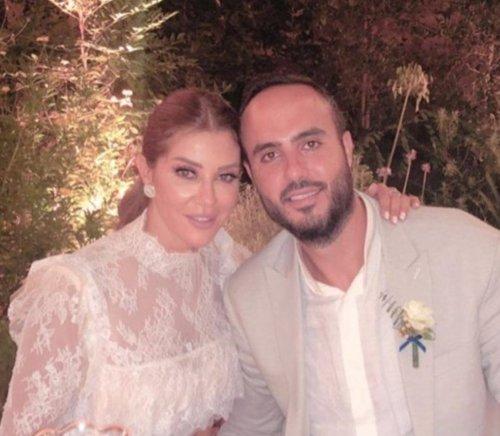 Carla Haddad and her husband Wael Qassis