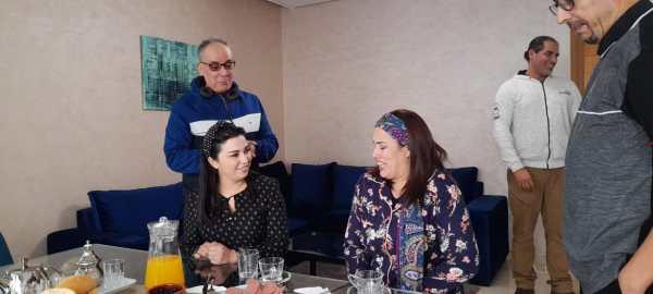 A snapshot of the movie Farah El Fassi and Sa'eeda Baadi