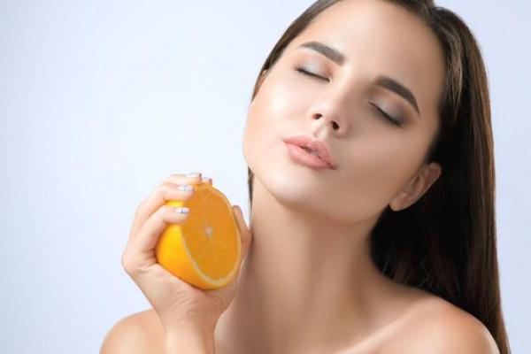 قشر البرتقال للبشرة