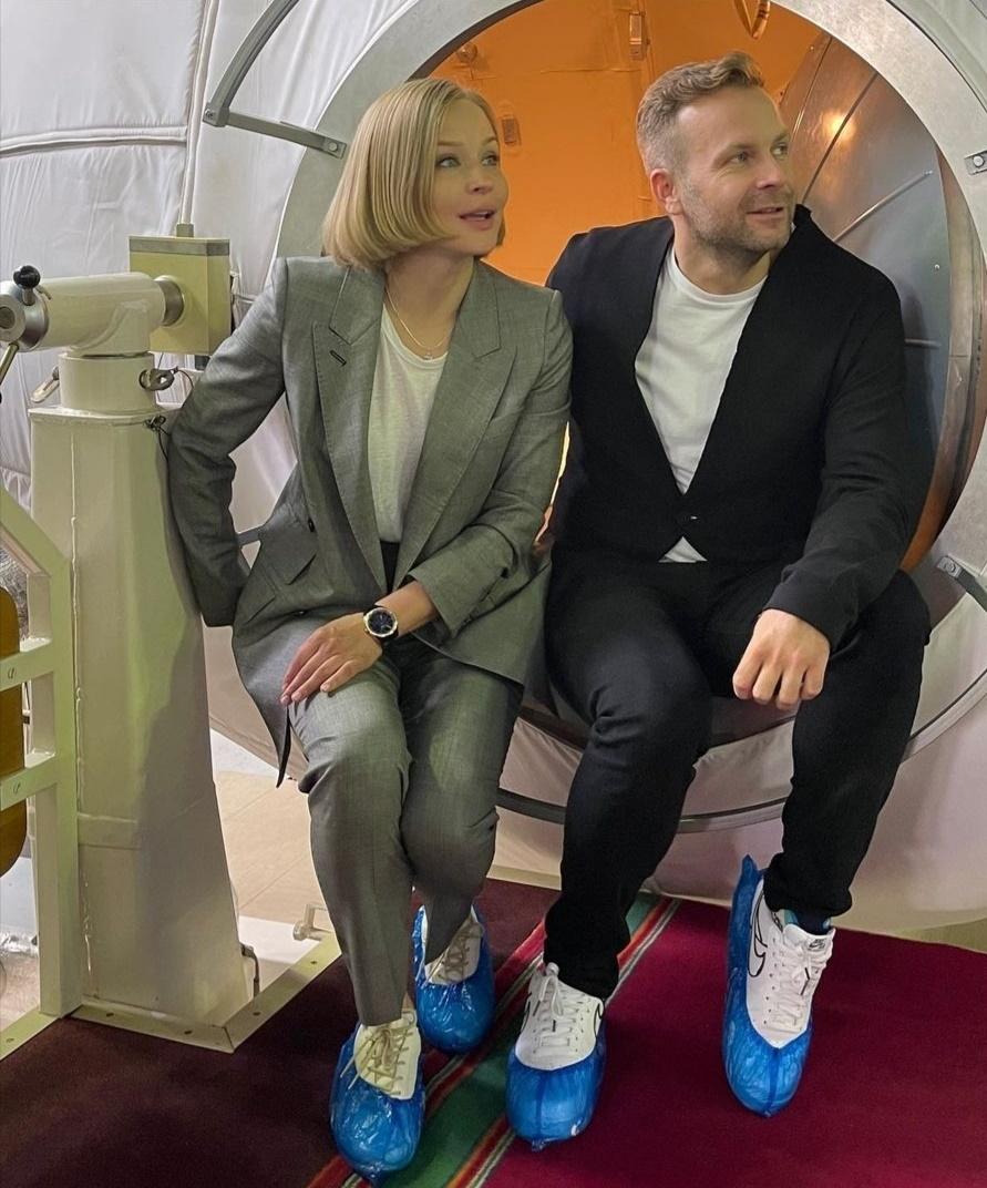 المخرج كليم شبينكو ويوليا بيريسيلد- الصورة من حساب كليم شبينكو على إنستغرام