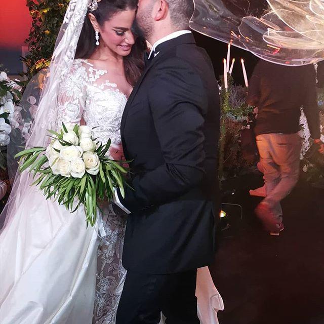 زفاف درة في الجونة