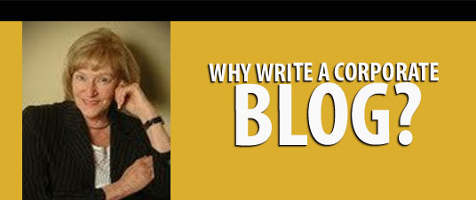 Why Write a Corporate Blog?