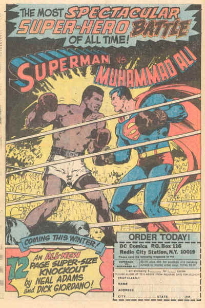 Superman vs. Muhammed Ali