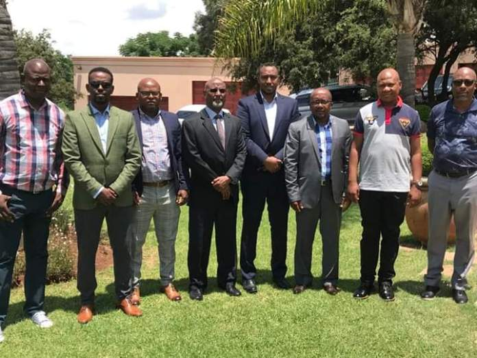 Somaliland Energy Minister meets with South African Politicians and Businessmen