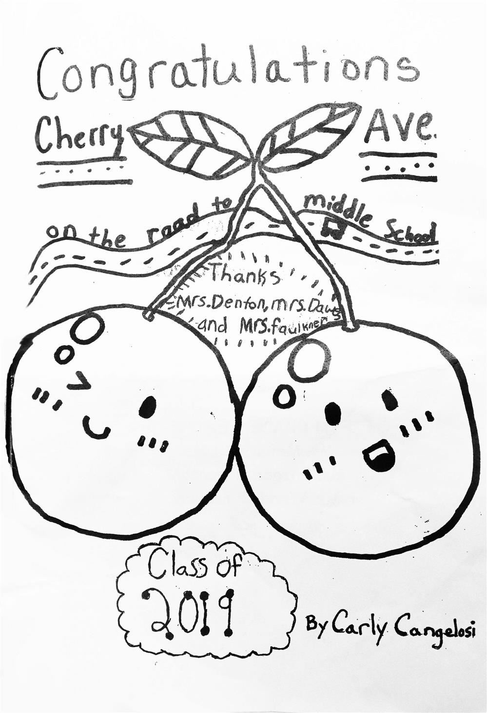 Tidings Online / 2019 Cherry Avenue Fifth-Graders Move Up