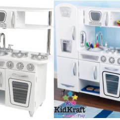 Kidkraft Toy Kitchen Crosley Cart Amazon Vintage木质古典玩具厨房 白色 Weee 华人生鲜第一站