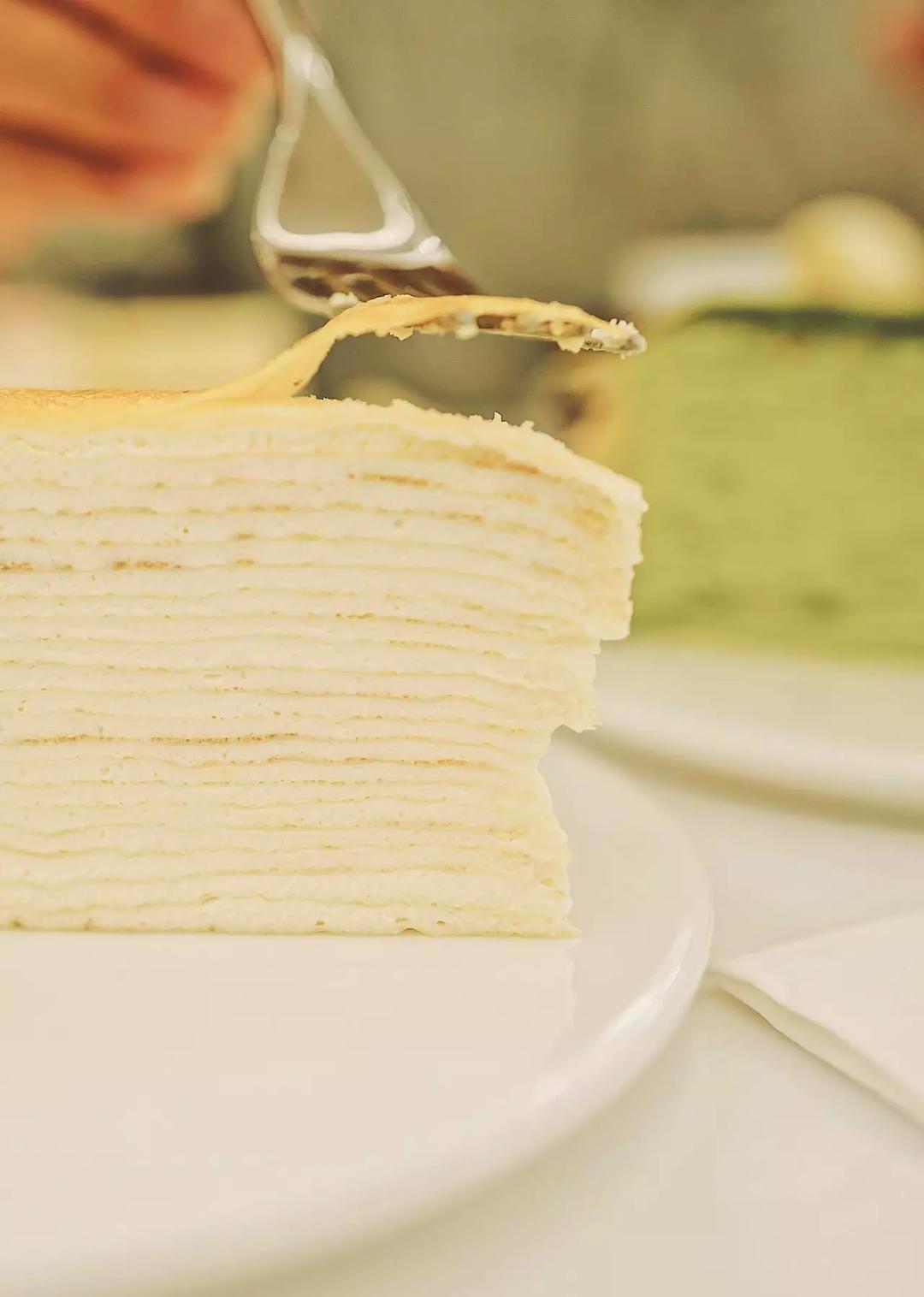 【Lady M】經典原味千層蛋糕 6寸 1 個 - 華人生鮮第一站