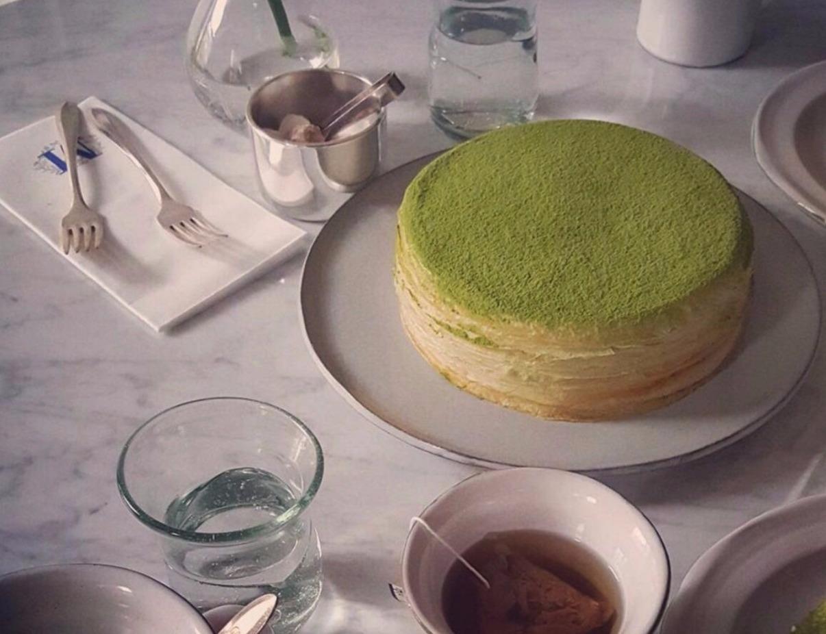 【Lady M】抹茶味千層蛋糕 6寸 1 個 - 華人生鮮第一站