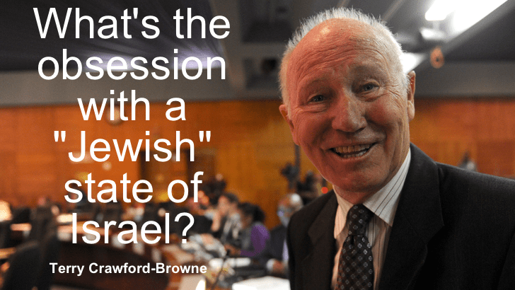 Terry Crawford-Browne's articles reflect anti-Israel attitudes