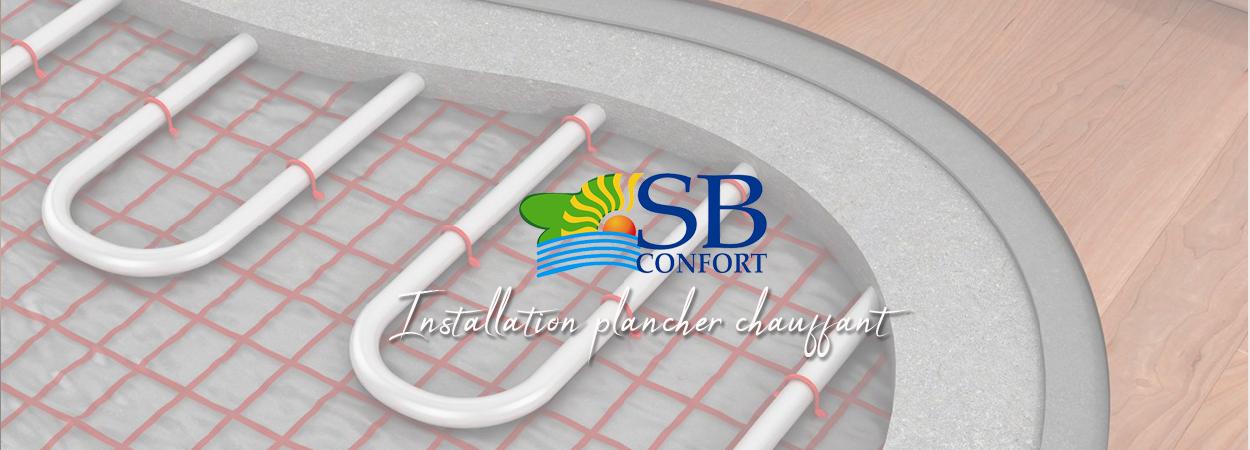 sb confort plombier charente maritime rochefort planchers chauffants