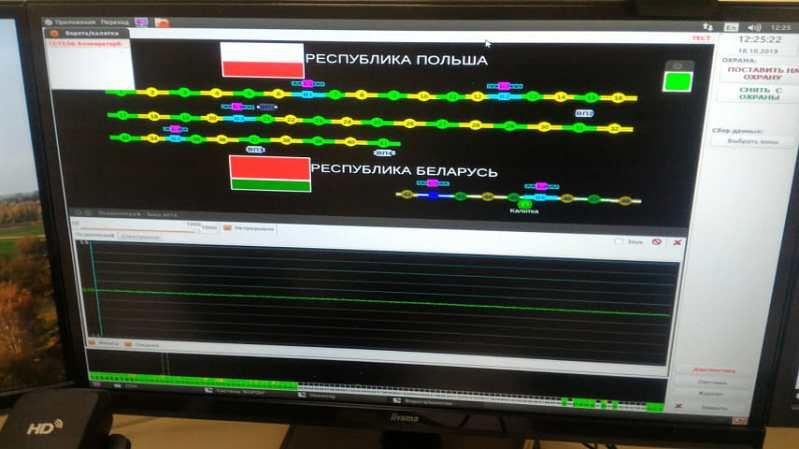 В Брестской области на границе с Польшей появился современный сигнализационный комплекс