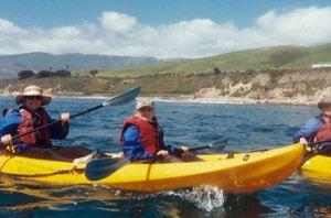Kayaking Santa Barbara