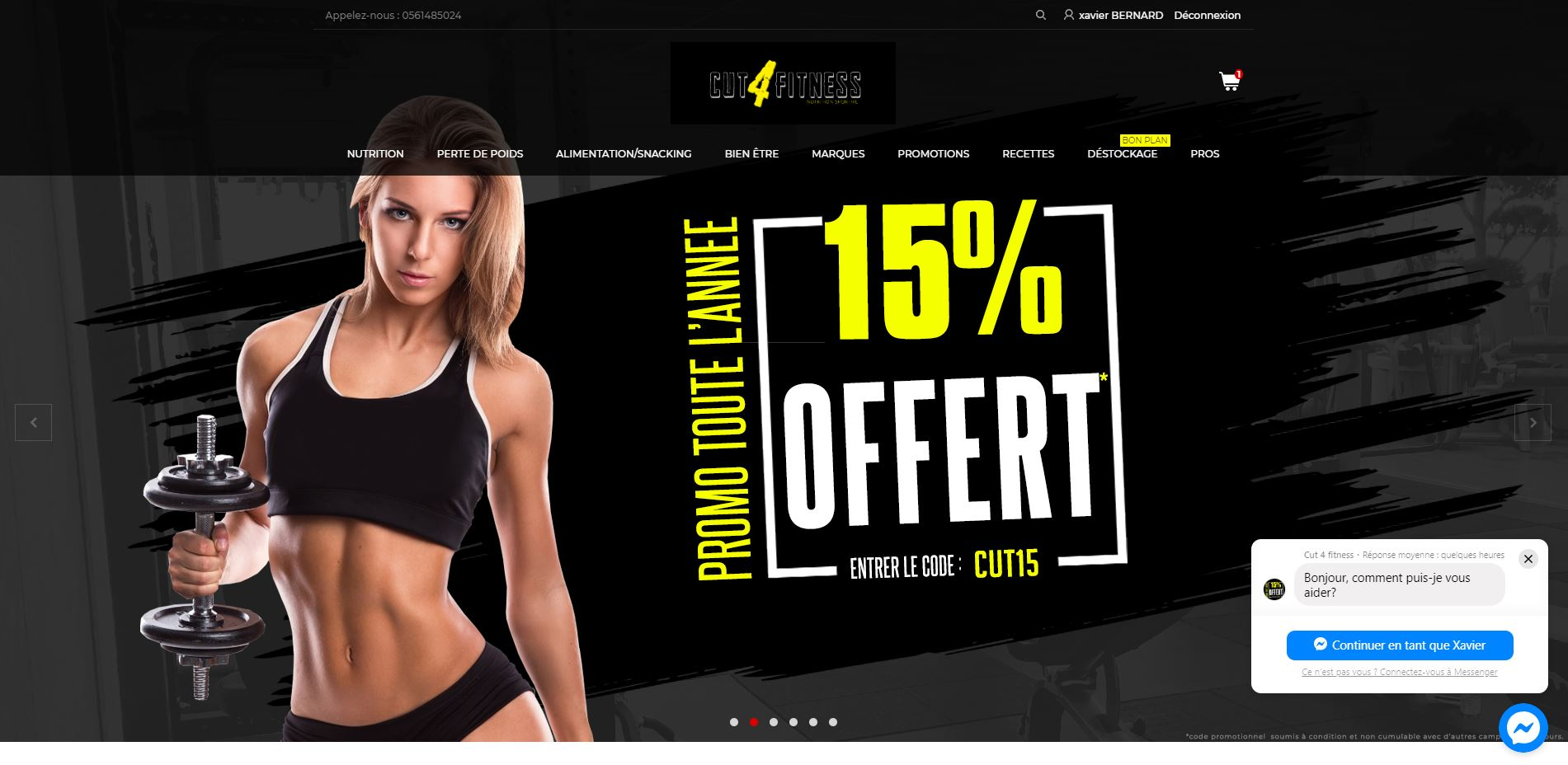 Cut4fitness nutrition sportive