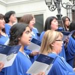 Fotos de la ceremonia del día de la Iglesia Evangelica en La Moneda