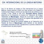 Día de la Lengua Materna en Chile